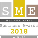 SME Hertfordshire Business Award_Winner_2018
